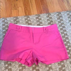 Pink banana republic trouser shorts